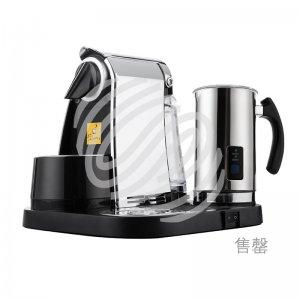 自动胶囊咖啡机套机  镀铬