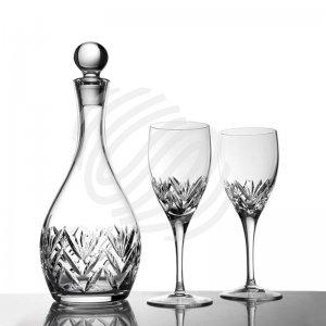 【售罄】Gabor水晶雕花葡萄酒酒具套装