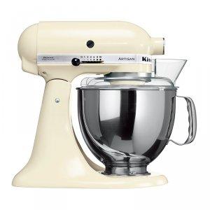 厨房用台式多功能搅拌机-奶油色