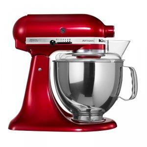 苹果红厨房用台式多功能搅拌机