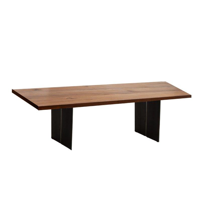 那图拉长方形餐桌(胡桃木)大号
