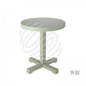 瞧啊!橄榄绿小圆桌