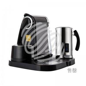 自动胶囊咖啡机套机 黑色