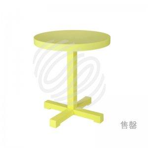 瞧啊!青柠黄小圆桌