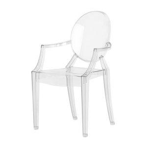 (预售)透明儿童版路易扶手椅
